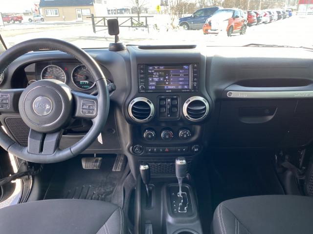 2018 Jeep Wrangler JK Unlimited Sahara 4x4