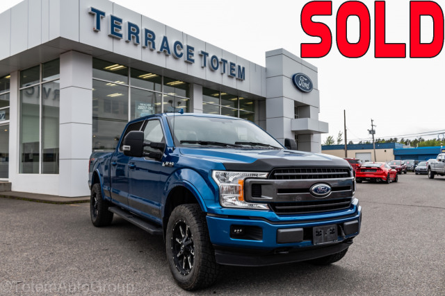 2018 Ford F-150 XLT Sport w/ Outlaw Package