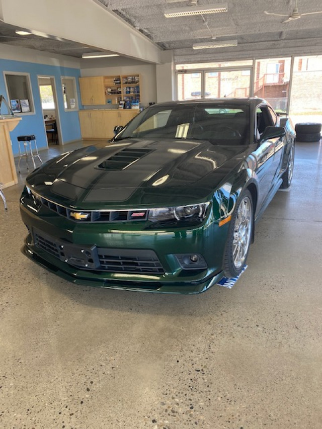 2015 CHEVROLET CAMARO SS COUPE SS