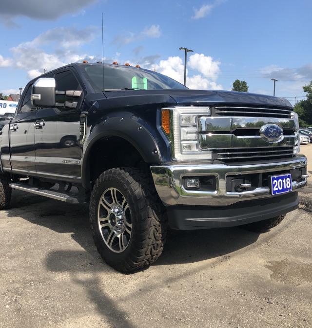 2018 Ford F250 4x4 - Crew Cab Lariat - 160 WB
