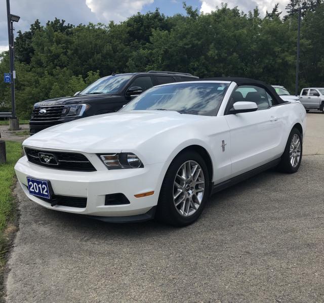 2012 Ford Mustang Premium Conv