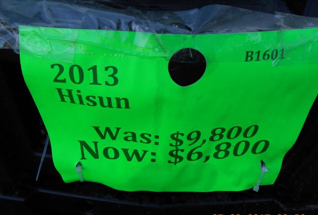2013 Hisun RS8R BASE