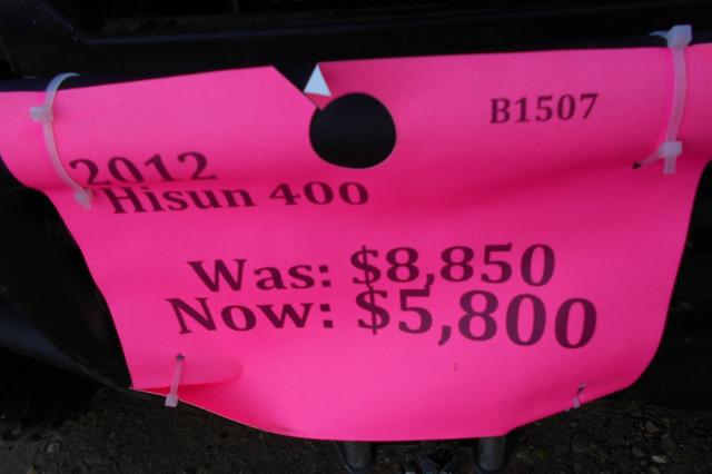 2012 Hisun 400 400 BASIC