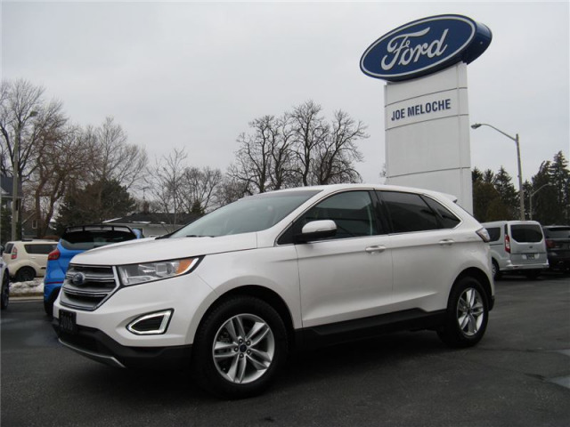 Ford Edge Sel White  L I V Gdi Dohc Turbo Joe Meloche Ford Sales