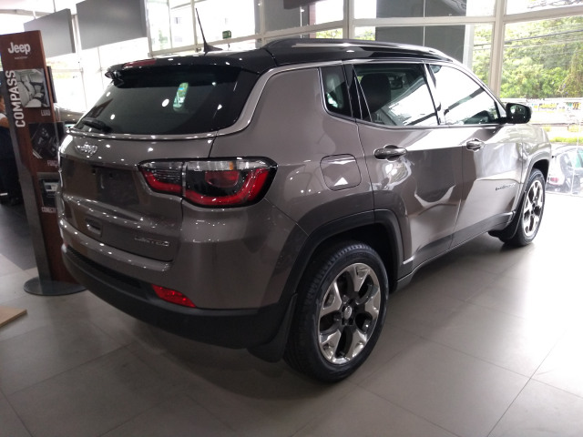 2018 Jeep COMPASS 2.0 16V FLEX LIMITED AUTOMÁTICO