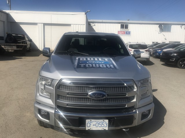 2015 Ford F-150 PLATINUM EDITION ECO BOOST LOADED