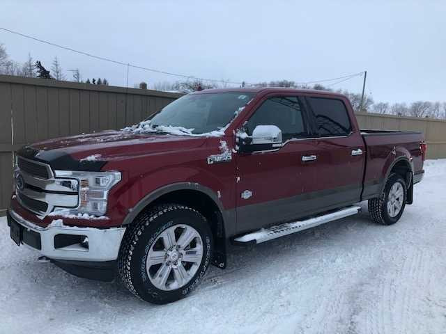 2018 Ford F 150 King Ranch Ruby Red 5 0l Ti Vct V8 Engine With