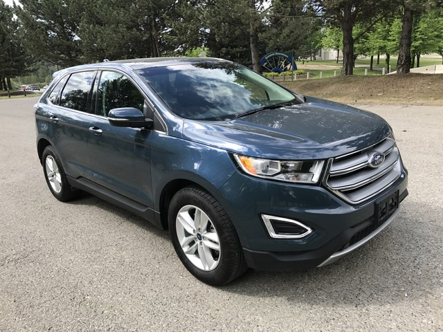 Ford Edge Sel All Wheel Drive  B W Zero Down