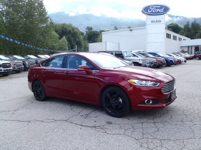 2016 Ford Fusion Se Red 2 0l I4 16v Gdi Dohc Turbo Nelson Ford