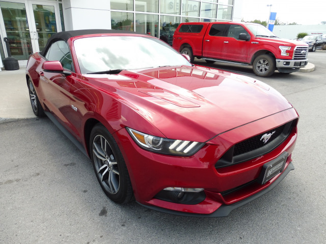 2017 Ford Mustang GT Premium Convertible V8