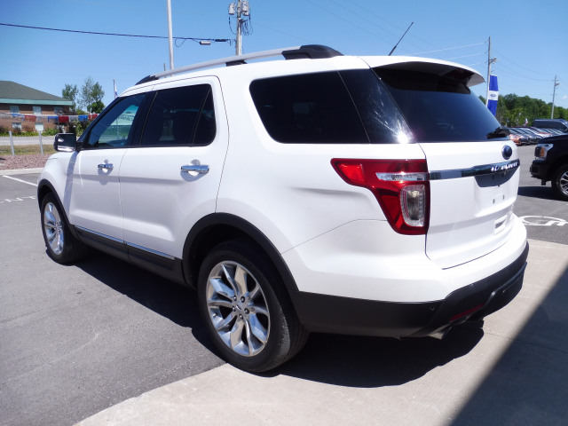 2013 Ford Explorer Limited Awd Vista Roof Dvd