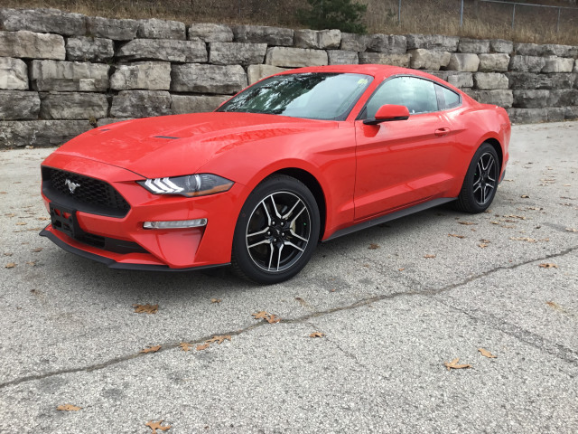 2019 Ford Mustang EcoBoost® Premium Race Red, 2 3L EcoBoost